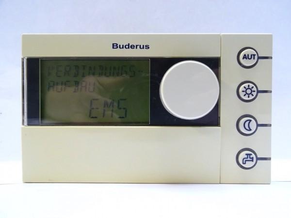 BUDERUS Logamatic RC30 EMS System-Bedieneinheit Regelung Raumcontroller 63024067