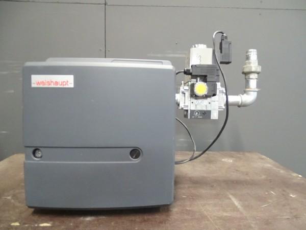 Weishaupt WG20N/1-C Z-LN Gas-Gebläse-Brenner 35-200kW Heizung Bj.2017 Gasarmatur