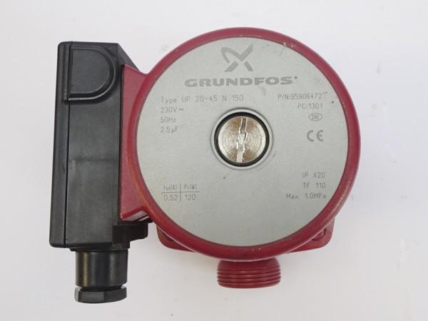 Grundfos UP 20-45 N 150mm Umwälz-Pumpe Heizungspumpe 95906472