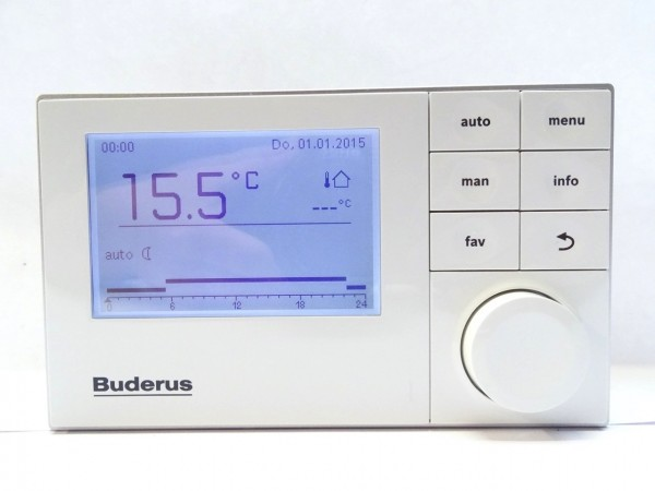 BUDERUS Logamatic RC300 T1 weiß EMS System-Bedieneinheit Regelung 7738111112