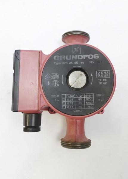 Grundfos UPS 25-40 180mm Umwälz-Pumpe Heizungspumpe