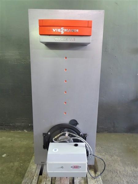 Viessmann Vitola 222 VE1 22kW Öl-Heiz-Kessel 150L Warm-Wasser-Speicher Bj.2005