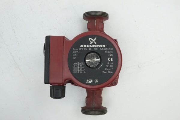 Grundfos UPS 25-40 180mm Umwälz-Pumpe Heizungspumpe 59544500