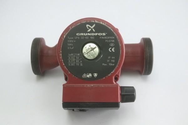 Grundfos UPS 32-60 180mm Umwälz-Pumpe Heizungspumpe 96281494