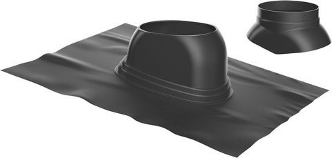 Junkers-Bosch Universalbleipfanne 5-25° schwarz Dachziegel Dachpfanne 7738112511