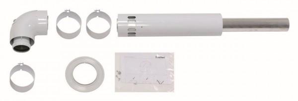 Vaillant Basis-Anschuss-Set LAS turboTEC Luft-/Abgasführung Alu DN60/100 mm