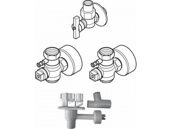 Buderus AS5-UP Anschluss-Set 5, Unterputz mit Siphon 7736613431