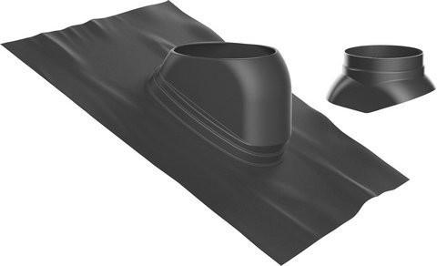 Junkers-Bosch Universalbleipfanne 25-45° schwarz Dachziegel Dachpfanne7738112621
