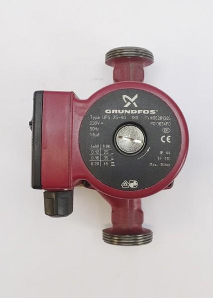 Grundfos UPS 25-40 180mm Umwälz-Pumpe Heizungspumpe 96281385