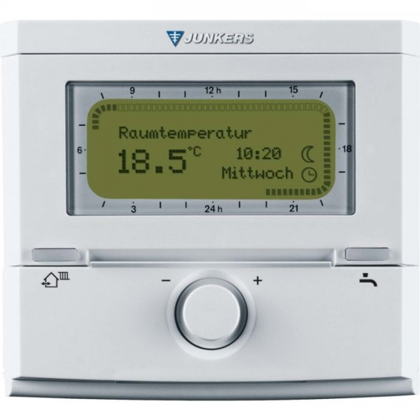 Junkers Bosch FR120 Raumtemperaturregler Thermostat Steuerung Reglung 8737707188