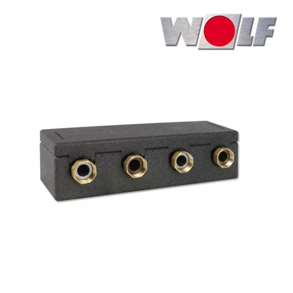 Wolf Verteilerbalken für 2 Heiz- bzw. Mischerkreise DN25/32 EnEV 2072197