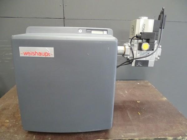 Weishaupt WG30N/1-C ZM-LN Gas-Gebläse-Brenner 40-350kW Heizung Bj.2018