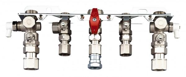 Junkers Bosch Installationszubehör Nr. 991 Montageanschlussplatte Aufputz