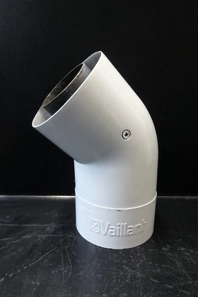Vaillant Abgas-Bogen 45° Grad turboTEC 60/100mm Alu turboTEC 303809