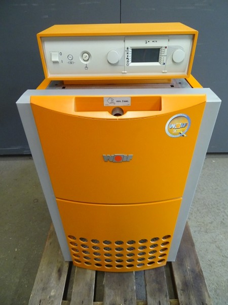 Wolf Comfort Line CNG-17 Gas-Heiz-Kessel 16,3 kW Bj. 2007