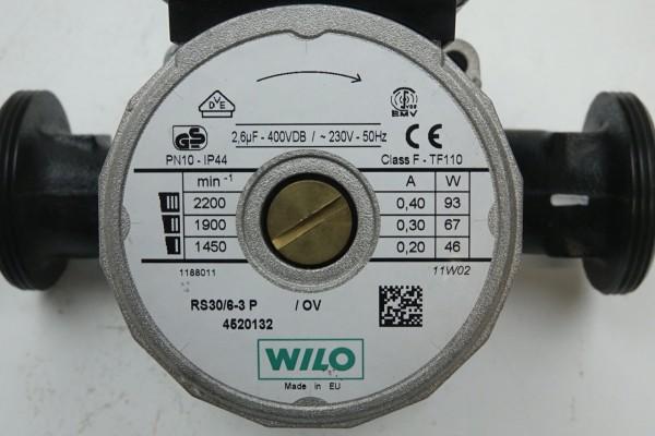 Wilo RS 30/6-3 P 180mm Umwälz-Pumpe Heizungspumpe 4520132