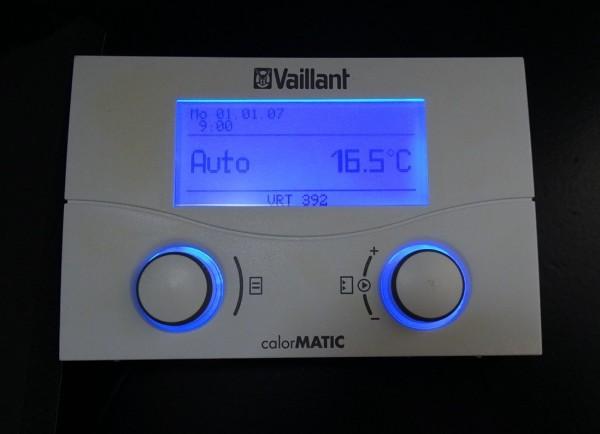 Vaillant calorMATIC VRT 392 Raum-Temperatur-Regler Regelung 002008505