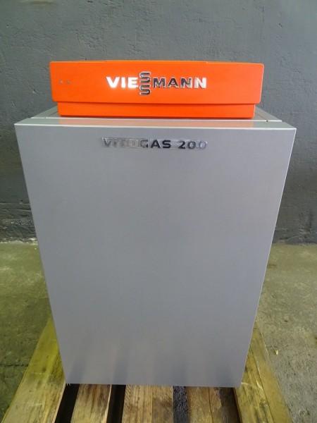 Viessmann Vitogas 200-F GS2 Gas-Heiz-Kessel 15kW Heizung Bj.2008