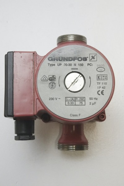 Grundfos UP 20-30 N 150mm Umwälz-Pumpe Heizungspumpe 968038