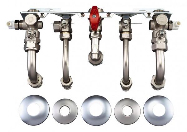 Junkers Bosch Installationszubehör Nr. 992 Montageanschlussplatte Unterputz