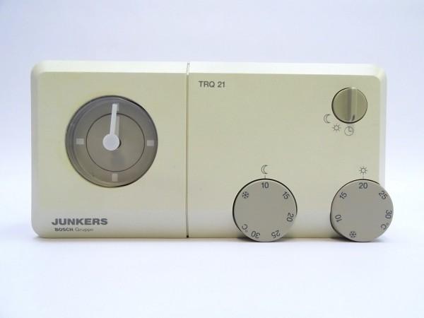 Junkers TRQ 21 W Raum-Temperatur-Regler Thermostat Steuerung Regelung 7744901055