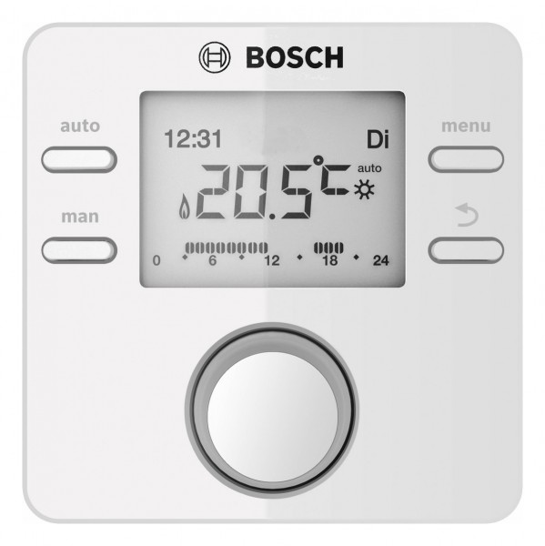 Junkers Bosch CR100 raumtemperaturgeführter Regler für 1 Heizkreis - 7738111096