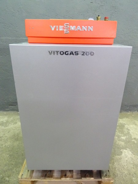 Viessmann Vitogas 200-F GS2 Gas-Heiz-Kessel Vitotronic 15kW Heizung Bj.2008