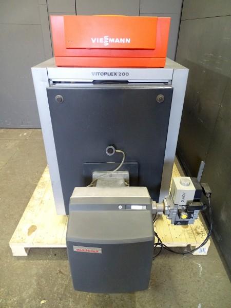 Viessmann Vitoplex 200 SX2 Öl-Gas-Heiz-Kessel Vitotronic 200kW Heizung Bj.2007