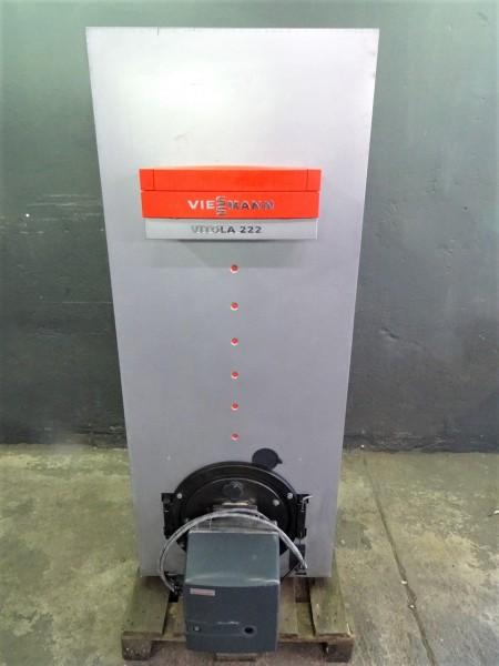 Viessmann Vitola 222 VS2 27kW Öl-Heiz-Kessel 165L Warm-Wasser-Speicher Bj.99