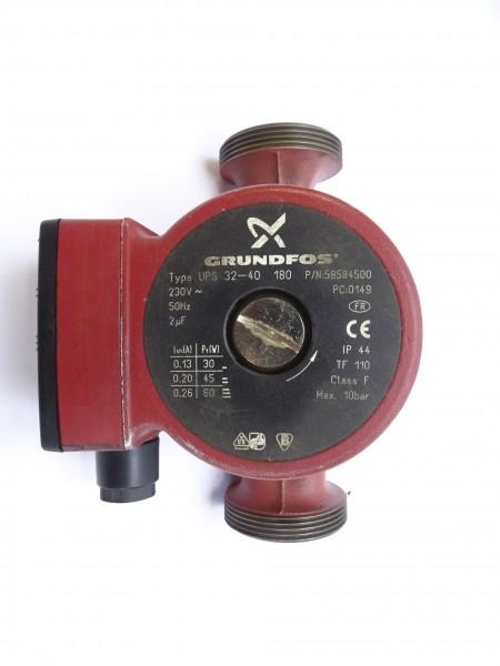 Grundfos UPS 32-40 180mm Umwälz-Pumpe Heizungspumpe 59584500