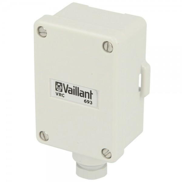 Vaillant VRC 693 Außenfühler NEU 000693 Wandaufbaufühler 630206004 (0020286879)