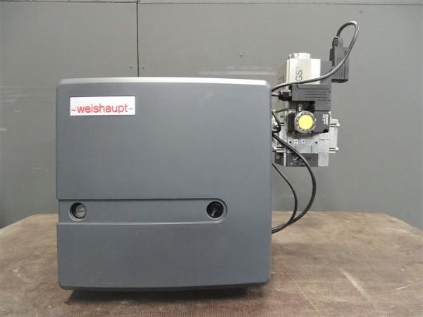 Weishaupt WG10N/1-D Z-LN Gas-Gebläse-Brenner 25-110kW Heizung Bj.2014 Gasarmatur