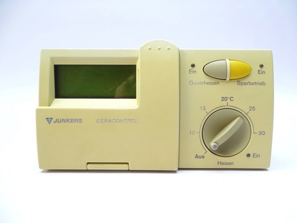 Junkers TR 200 Raum-Temperatur-Regler Thermostat Steuerung Regelung 7744901046