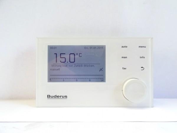 BUDERUS Logamatic RC310 weiß EMS System-Bedieneinheit Regelung 7738113410