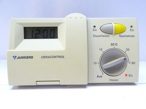 Junkers TR 100 Raum-Temperatur-Regler Thermostat Steuerung Regelung 7744901045